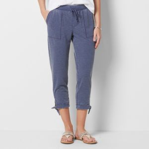 Women's SONOMA Goods for Life™ Burnout Side-Tie Capris